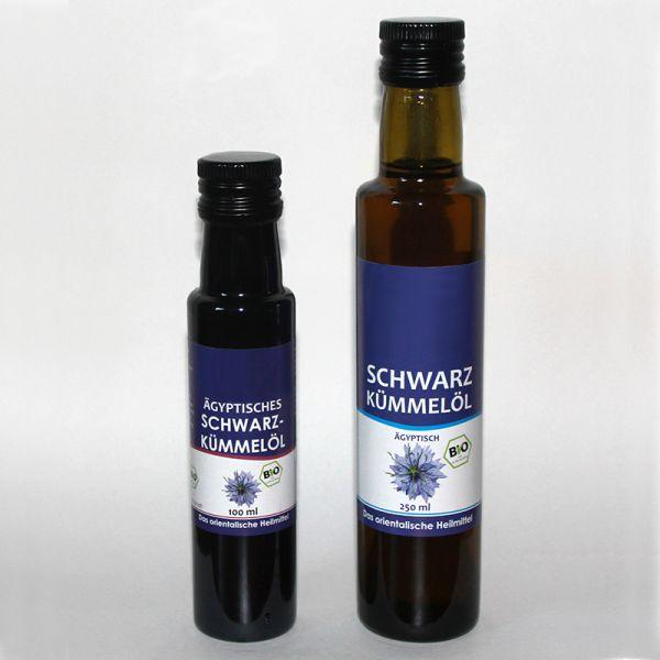 Bio Schwarzkümmelöl Nigella Sativa